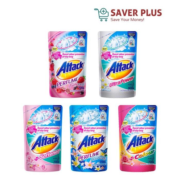 Attack Liquid Detergent 700g/800g