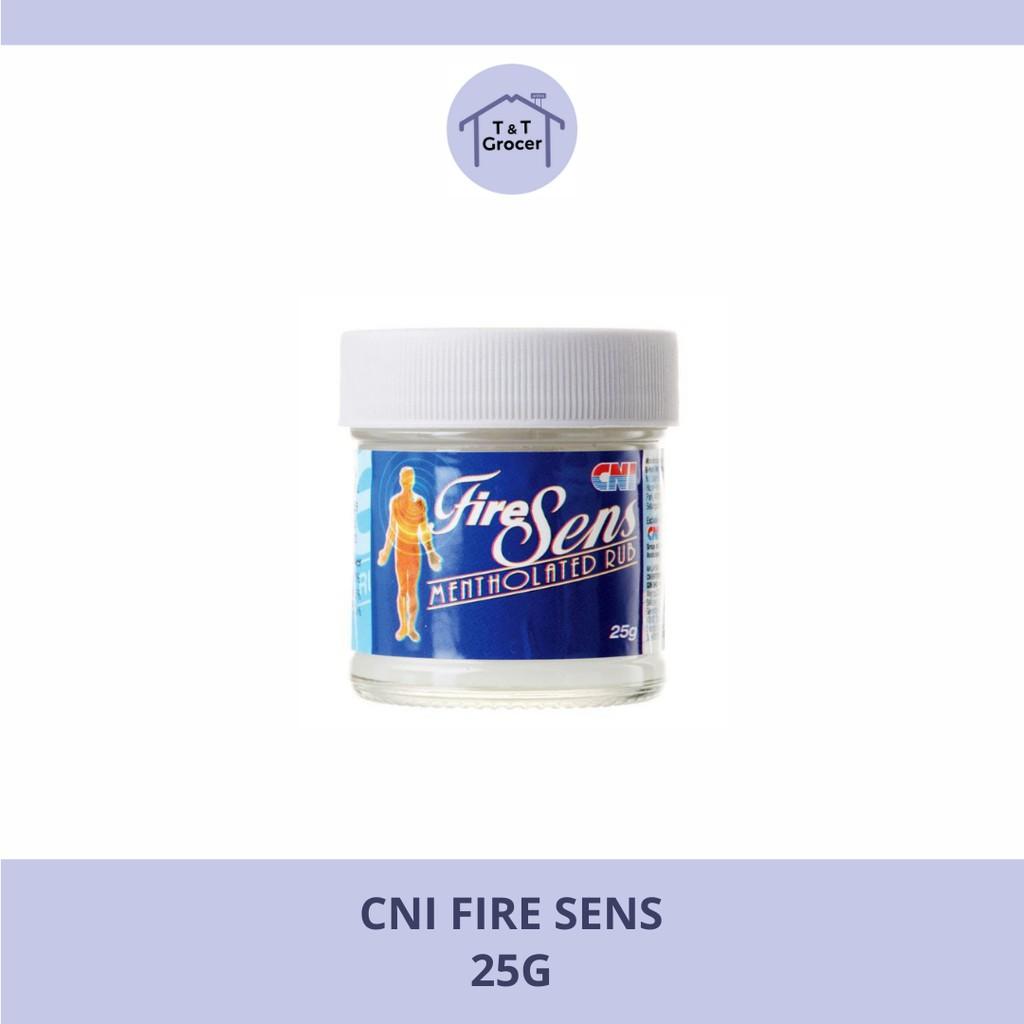 CNI Fire Sens Mentholated Rub 25g