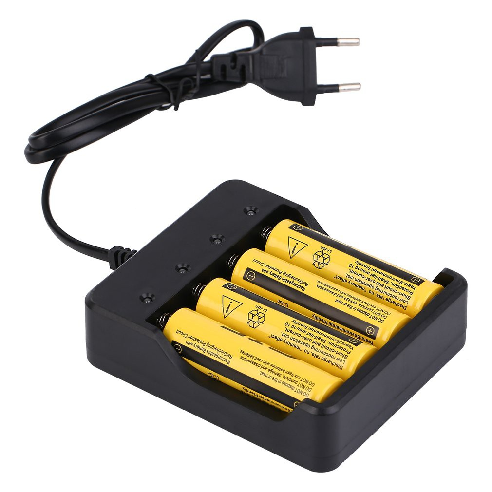 4pcs 37v 42v Rechargeable Li Ion Battery 18650 Lithium 5800mah 2400mah Liion Batteries W Protection Circuit With Charger Shopee Malaysia