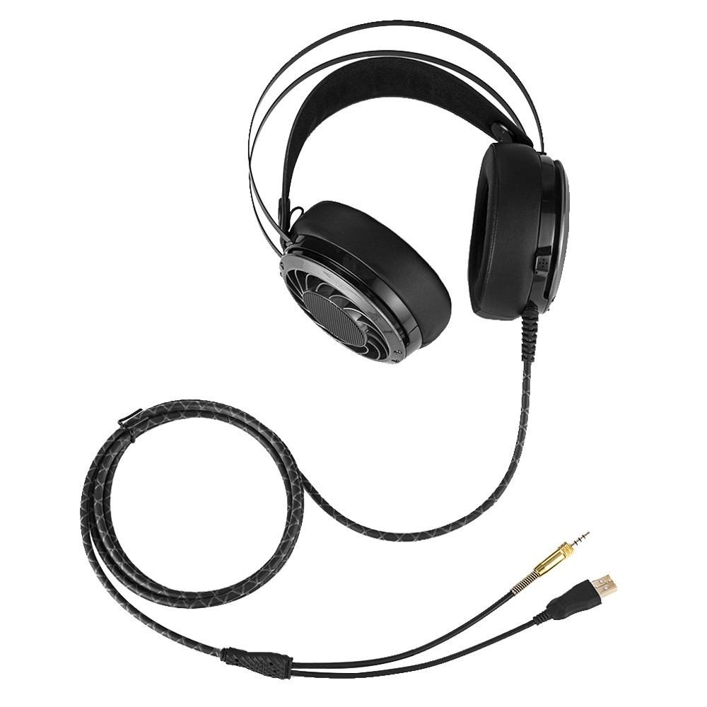3 5mm Over Ear Gaming Headset w/ Mic for Mac PS4 iPad iPod Android Phones PC