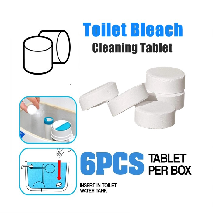 Cleaning of Dirt Toilet Bleach Cleaner Toilet Cleaning Tablets Against Antibacterial