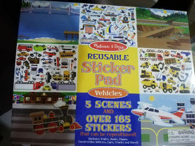 Reusable Sticker Pad Vehicles Shopee Malaysia