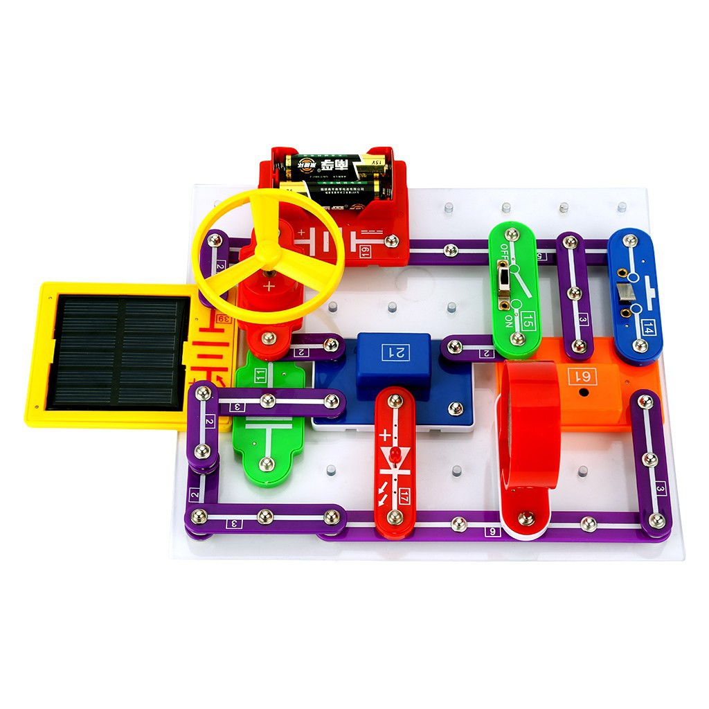 Excelvan W 9889 Snap Circuits Electronics Discovery Kit Science Elenco Mini Basic Electricity Toys Educational Toy Shopee Malaysia