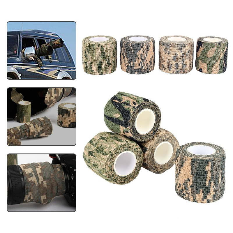Nonwoven grass Camouflage Concealment Stealth Tape Self-adhesive tape hunti