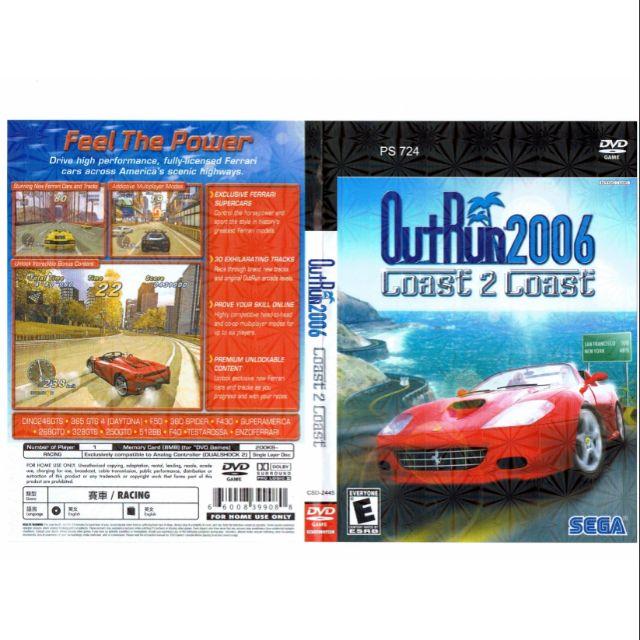 PS2 Games Outrun 2006 Coast 2 Coast