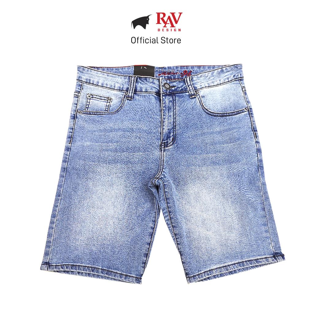 Rav Design Men's Shorts Jeans |RJS612200182