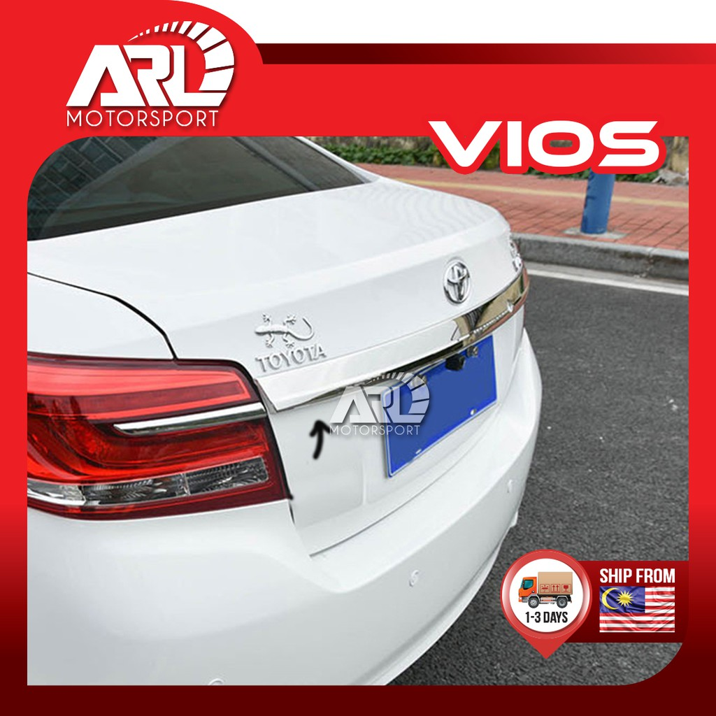 Toyota Vios (2013-2018) NCP150 Rear Chrome Bar - Replace Type Bar Car Auto Acccessories ARL Motorsport