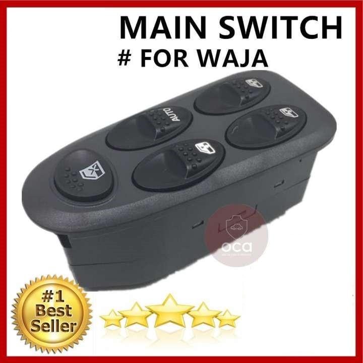 OEM Power Window Switch for Proton Waja (Main Switch)