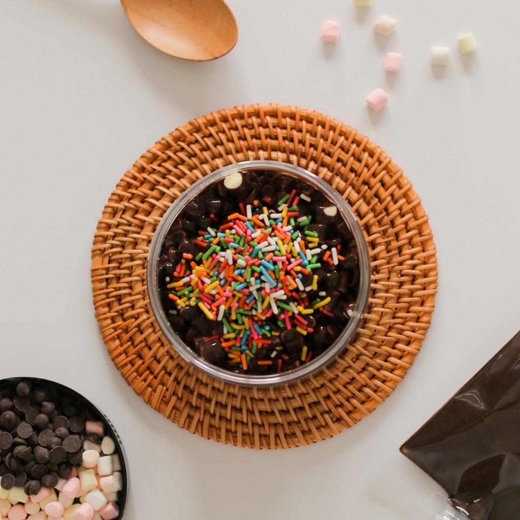 JUMBO Choco Jar DIY Kit- Custom-Made Choco Jar Sendiri