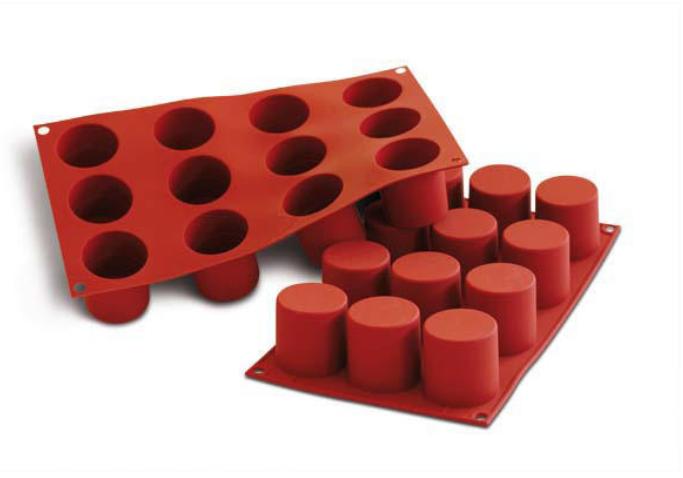 Siliconflex Cylinder, Ø 48 x H 50 mm