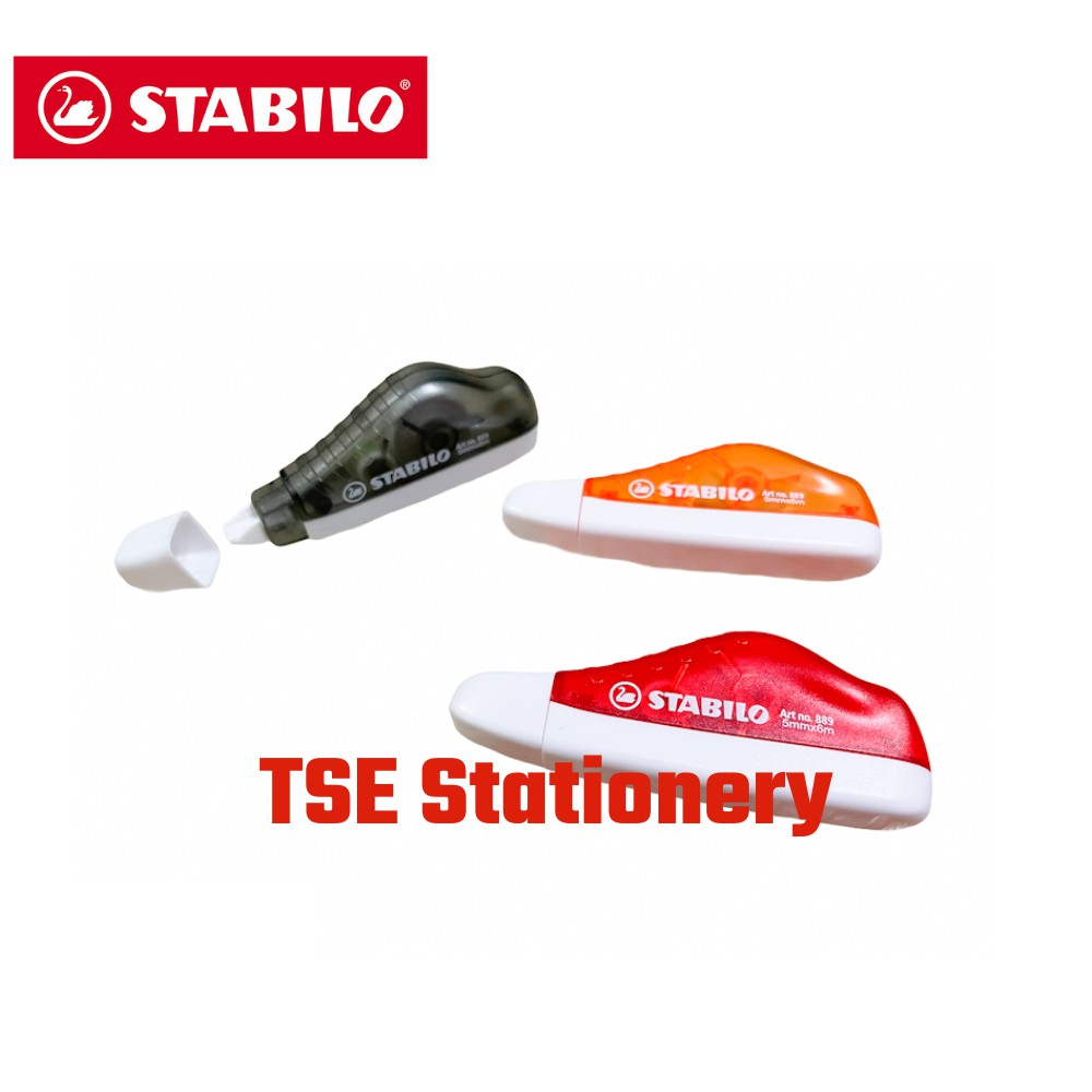 Stabilo 889 5mm x 6m Correction Tape