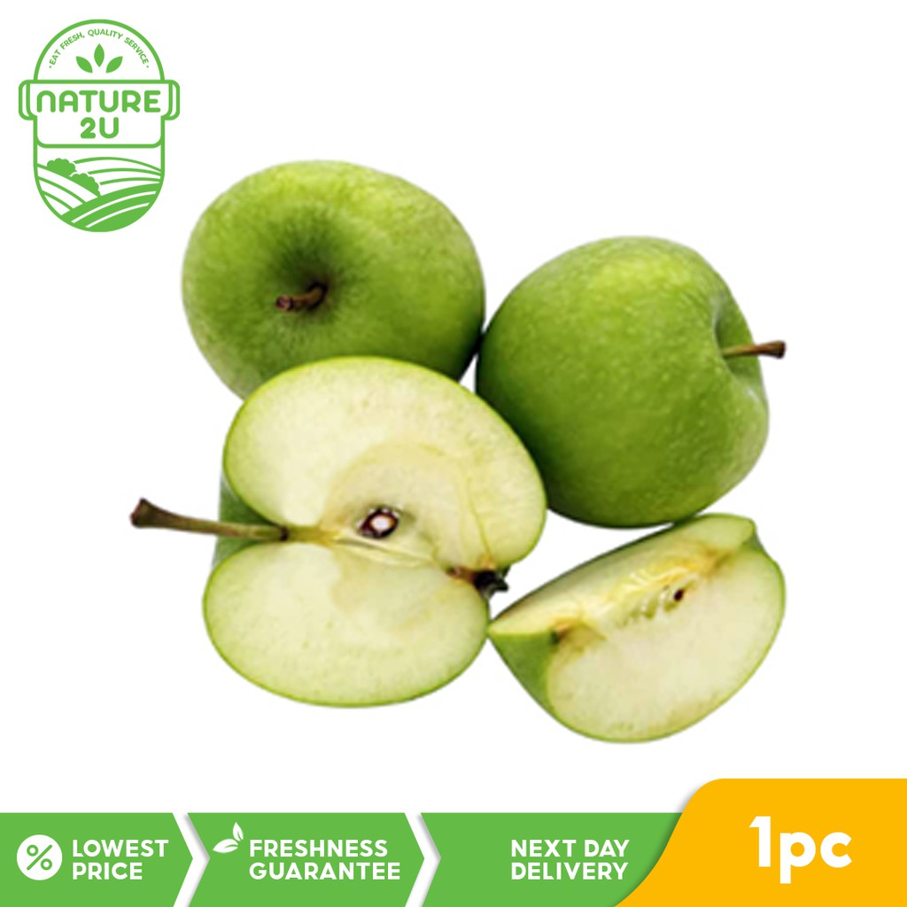 Fresh Fruit - Granny Smith Green Apple (1 pc)