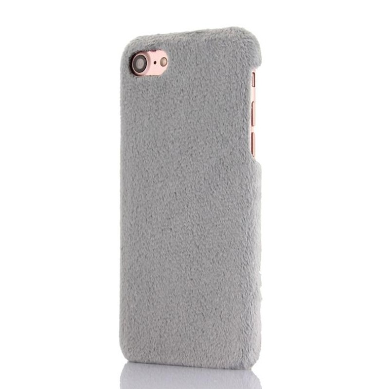 timeless design de547 f1a0e Grey soft Fur Apple iPhone 6s Case Korean Creative iPhone 6s Casing Cover