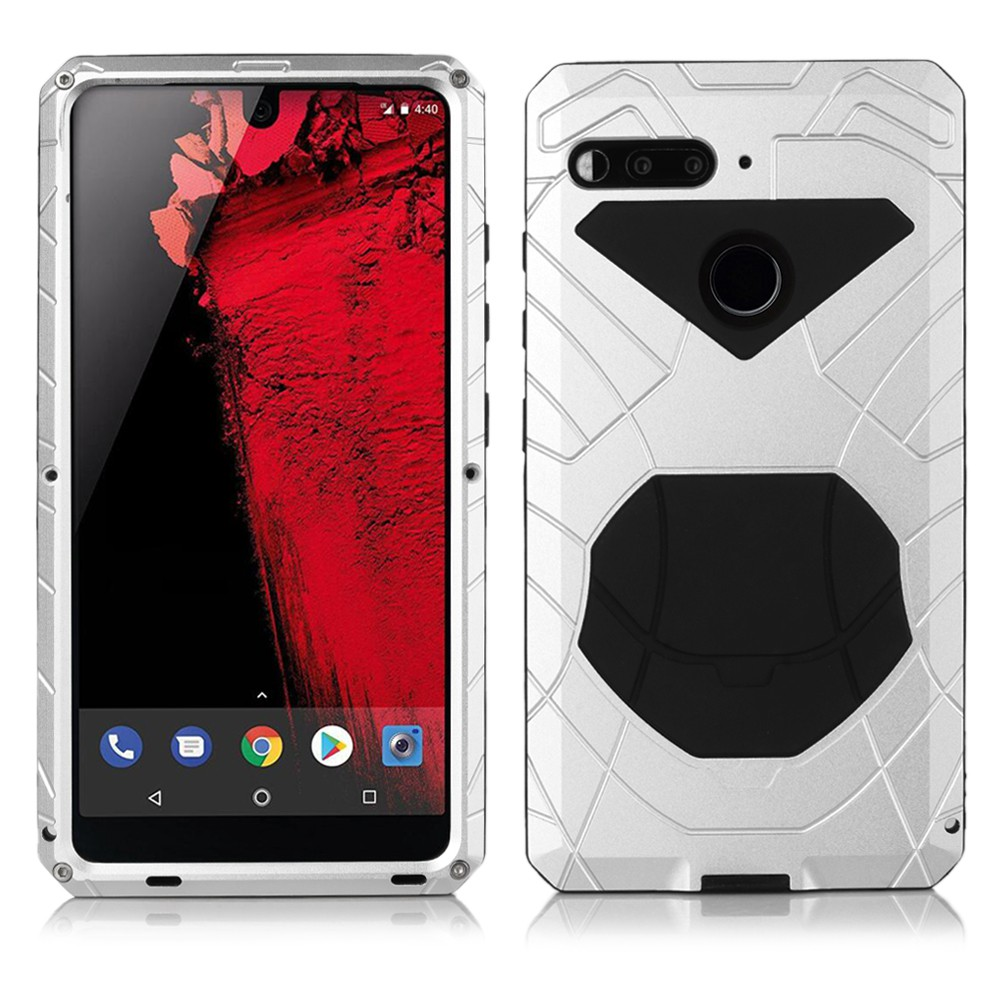 new product e273d 309e5 Dust/Water/Waterproof Essential Phone PH-1 Armor Case with 9D tempered Glass