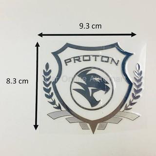 Proton Car Auto Racing Logo Emblem Badge Decal Sticker