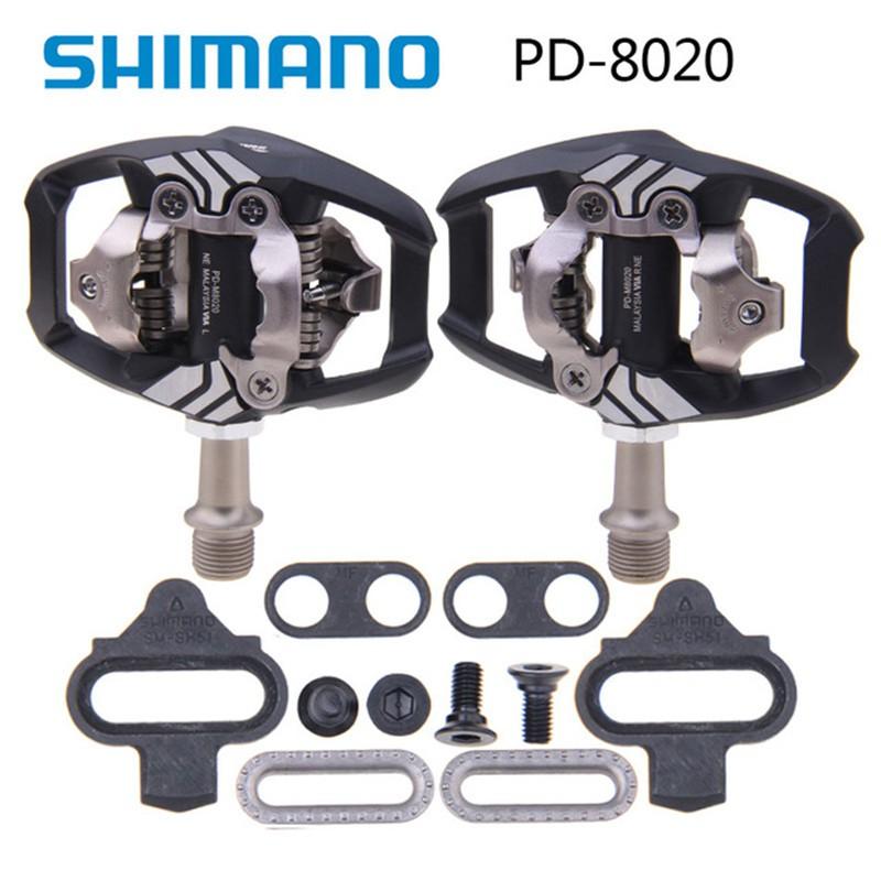 Shimano Deore XT PD-M8000 SPD Clipless MTB Pedals /& Cleats EPDM8000