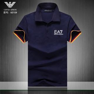 2019 original top quality look good shoes sale Armani EA7 Polo shirt for Men's casual short sleeve polo Cotton top armani  tee