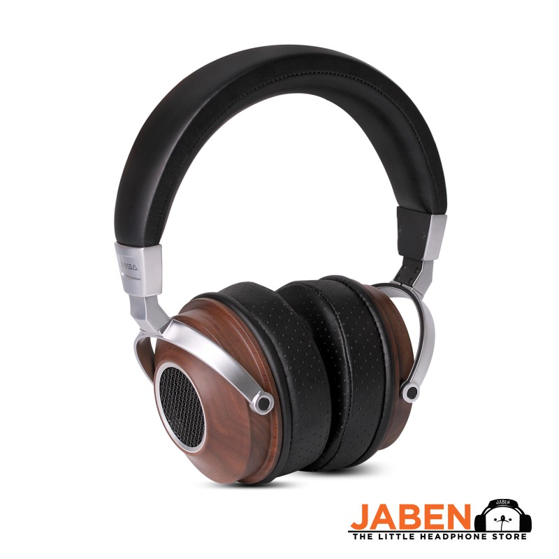 SIVGA SV007 HiFi Wooden Noise Isolation Bass In-Line Microphone Over-ear Dynamic Wired Headphone [Jaben]