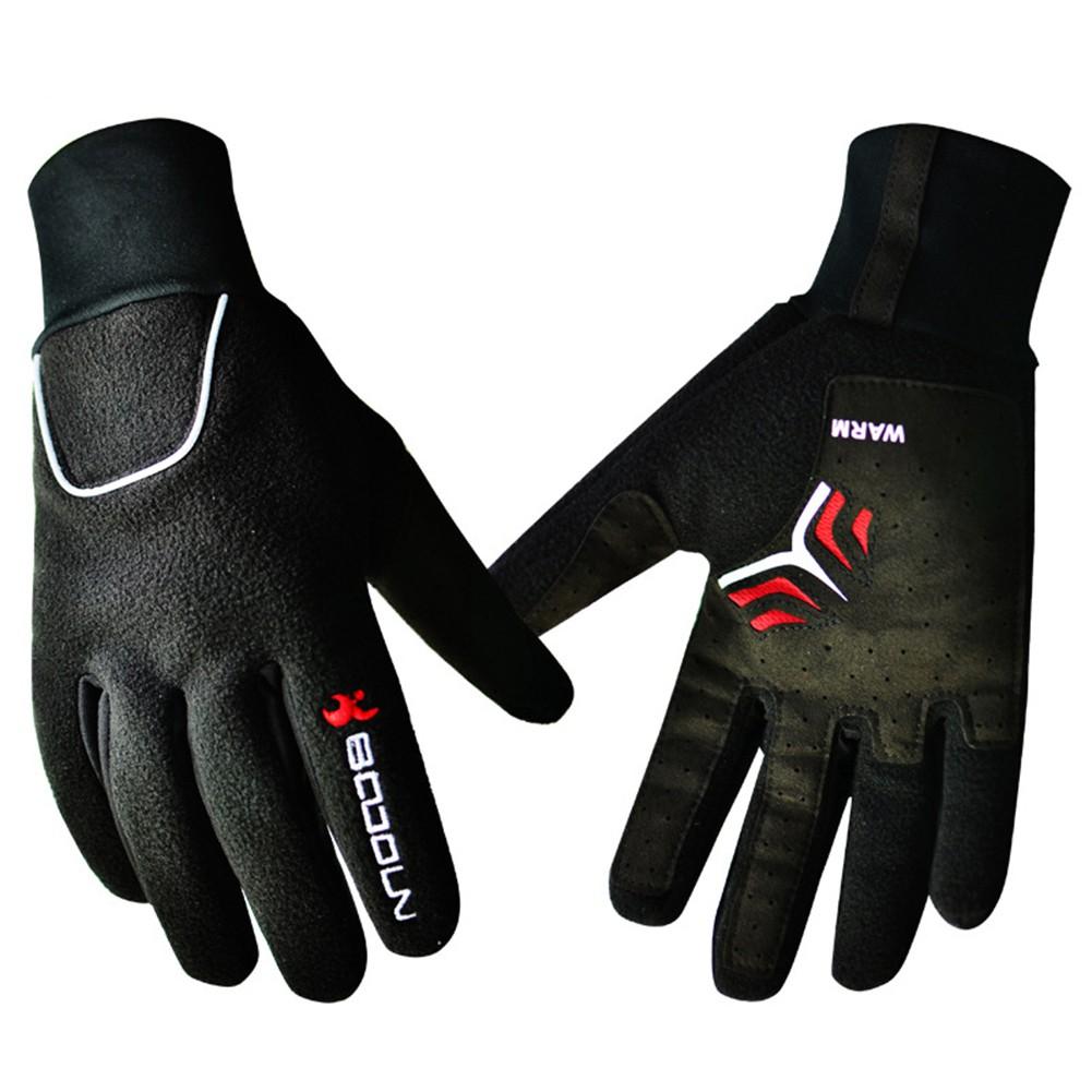 Women Man Winter Warm Windproof Outdoor Sports Racing Cycling Finger Gloves