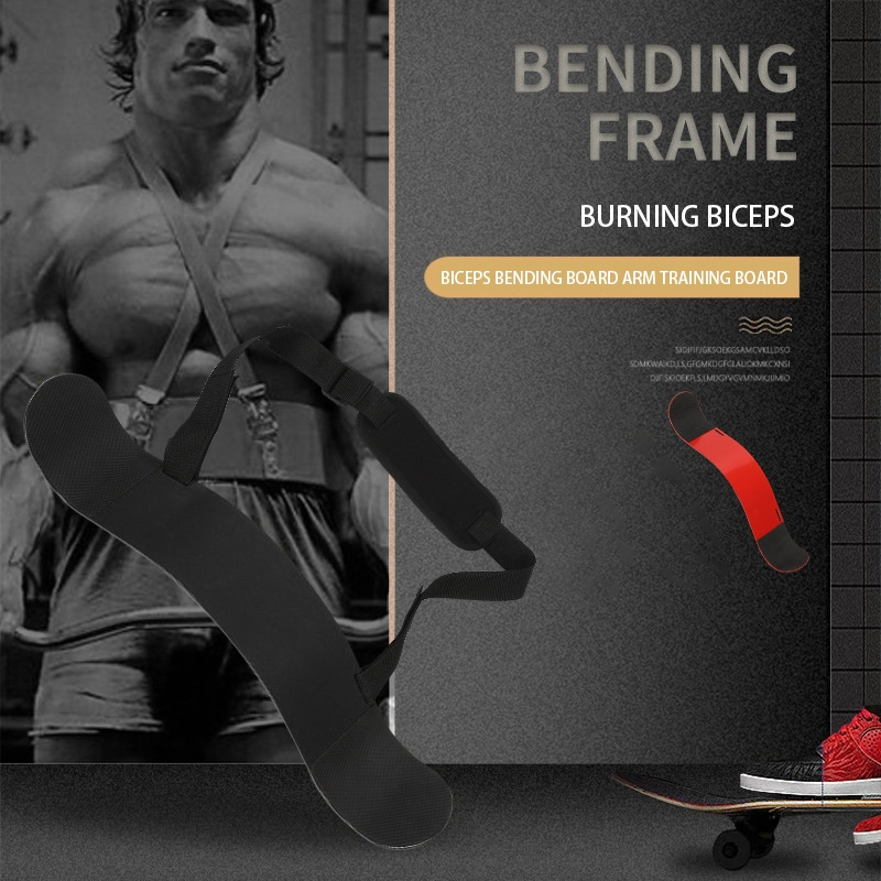 ARM TRAINER BICEPS PROFESSIONALS Bomber Weightlifting ARM BLASTER FITNESS