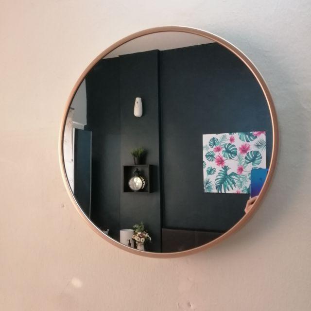 Mr Diy Round Mirror Shopee Malaysia