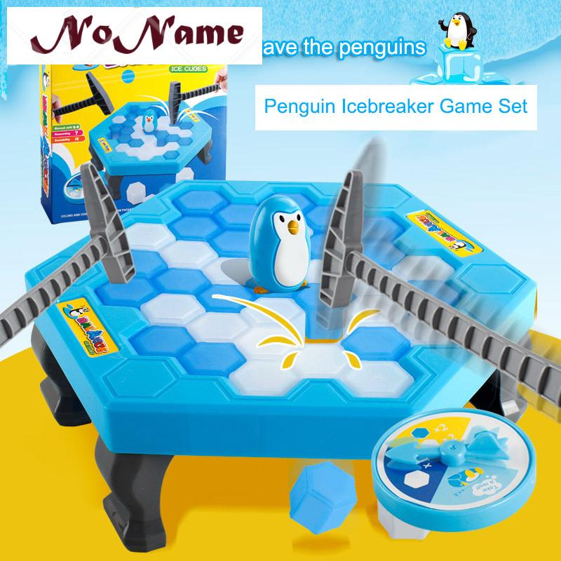 NN- 1 Set Small Save Penguin Trap Ice Breaker Game Block Toy