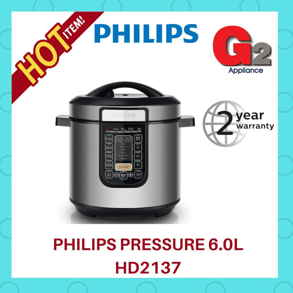 Philips Pressure Cooker HD2137 (1000W /6L)