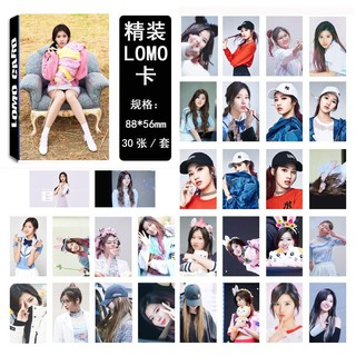 KPOP TWICE CHEER UP Momo Lim Na Yeon Tzuyu Album LOMO Cards K-POP
