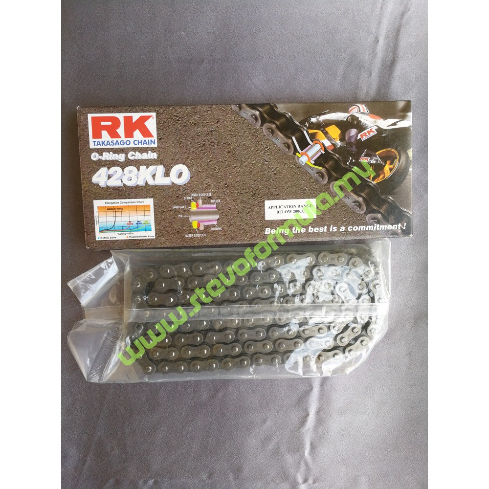 Honda RS150 Chain Drive RK O-Ring 428KLO 122L