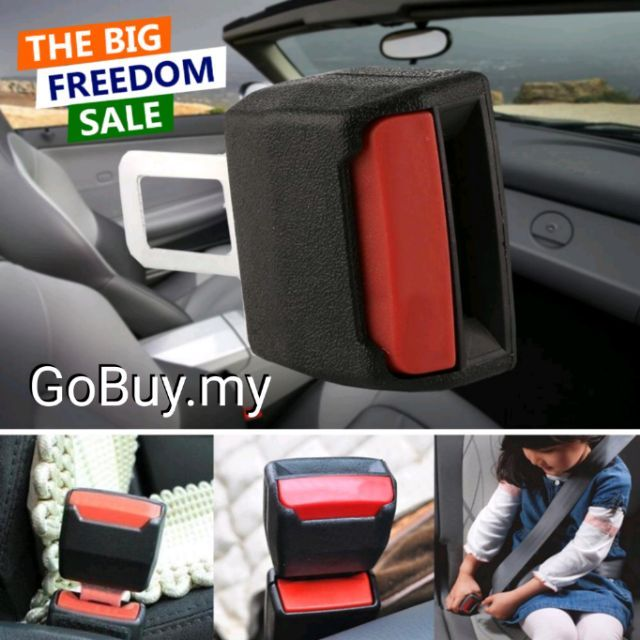 RM5.00 Harga Borong Universal Car Seat Seatbelt Safety Extender Belt Extension Buckle