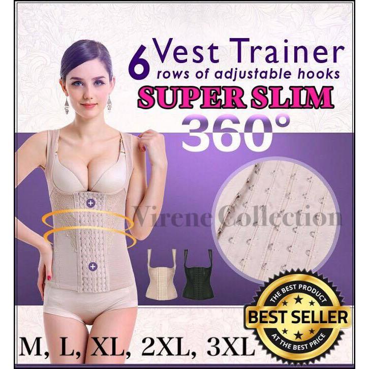 5c298faa51839 READY STOCK 🔥 Super Slimming Body Shapewear Corset Top Korset Borong  521162CPC