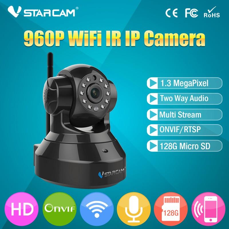 New Vstarcam C37A H 264 960P HD Wireless WiFi IR Hemispherical IP Camera