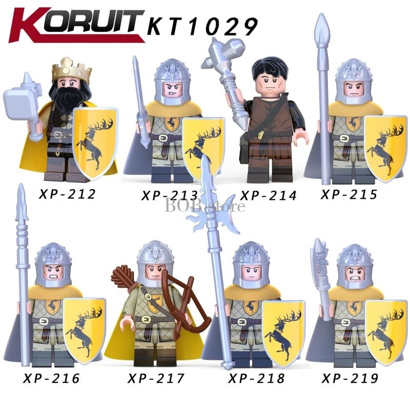 Lego Minifigures Rights Game Building Block Toys for Kids