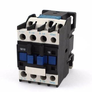 Power AC Contactor 1NO AC 220V 50/60Hz Coil Motor Starter