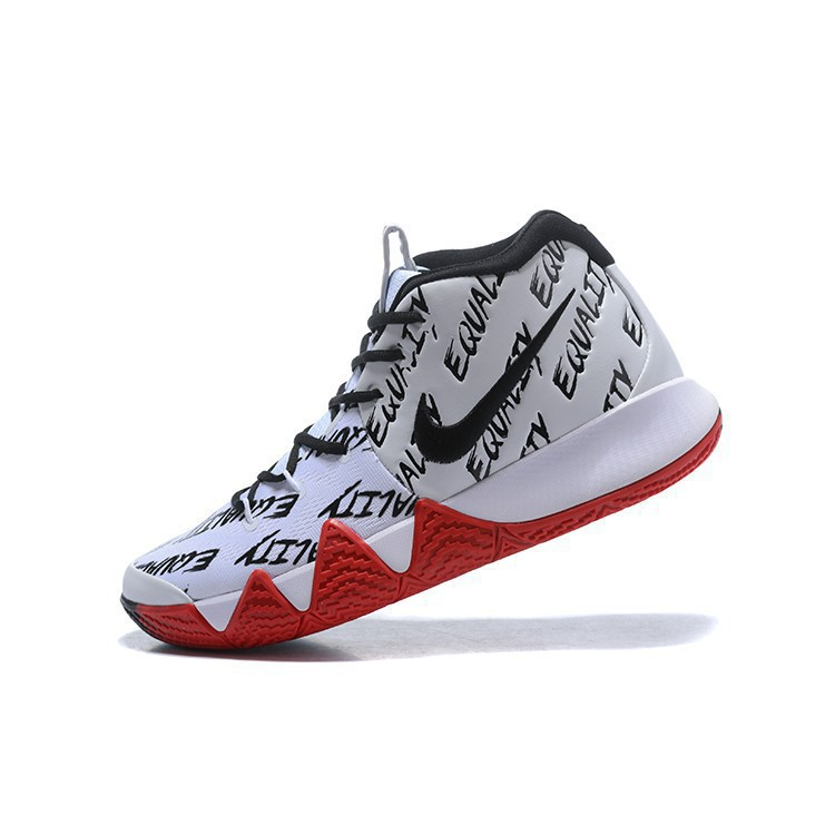 newest 1cd31 711af ready stock 2018 Nike Kyrie 4 BHM Equality White Black Red Green 1639176573