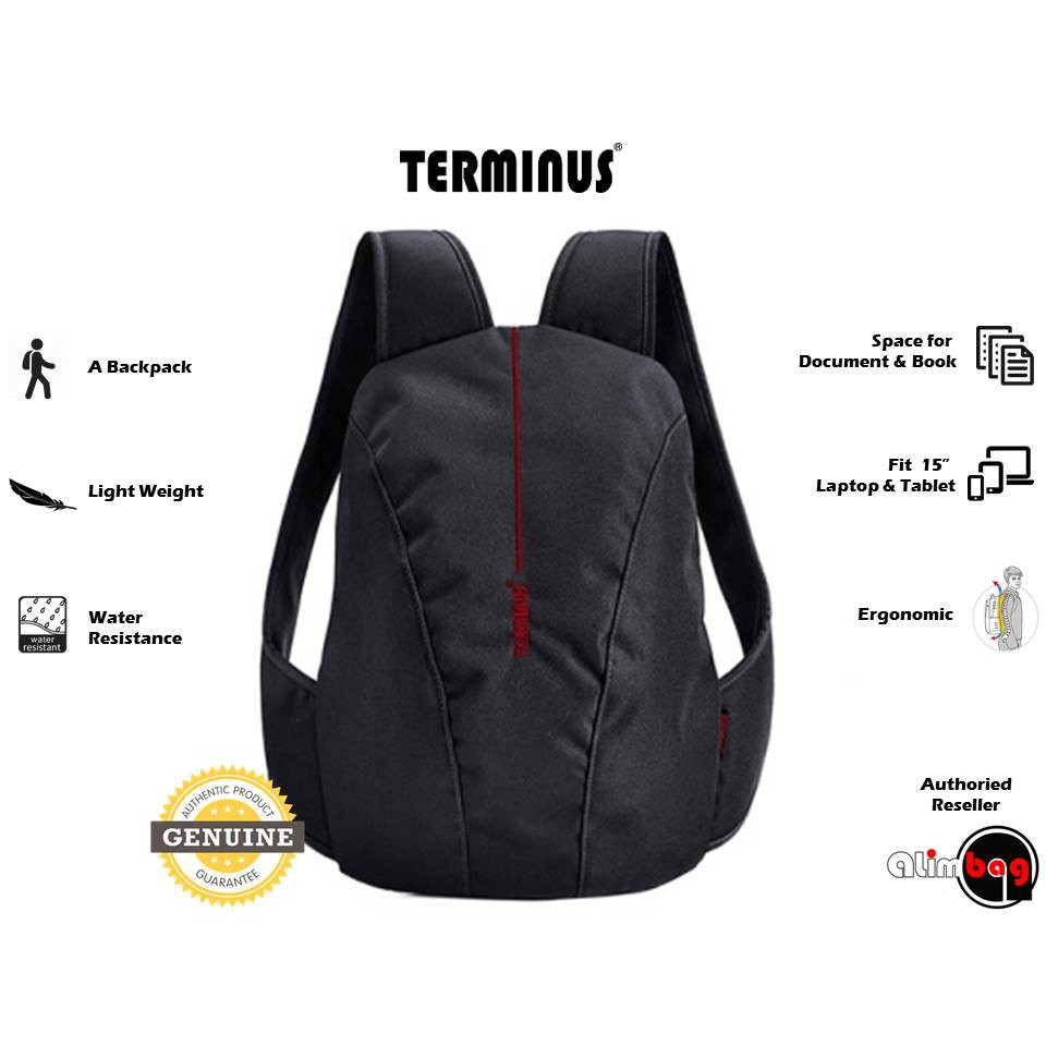af715c5c72f2 Terminus Simple-Mate (Nylon) Unisex Laptop Tablet Ergonomic Backpack Bag