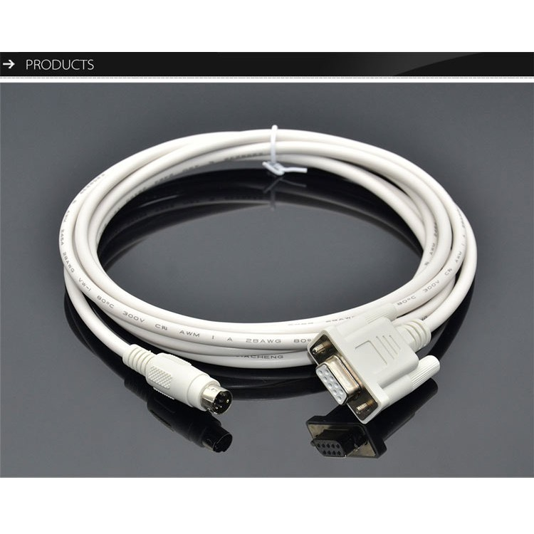 AFC8513 For Nais Panasonic FP0 FP2 FP-M FP-X FP Series PLC Programming Cable