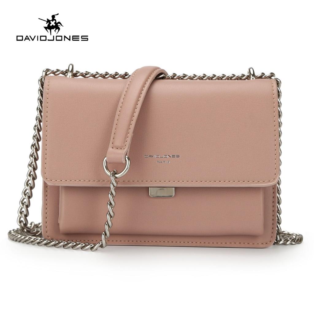 DAVIDJONES Weave tassel Shoulder bag round top handle  cde0e565611b7