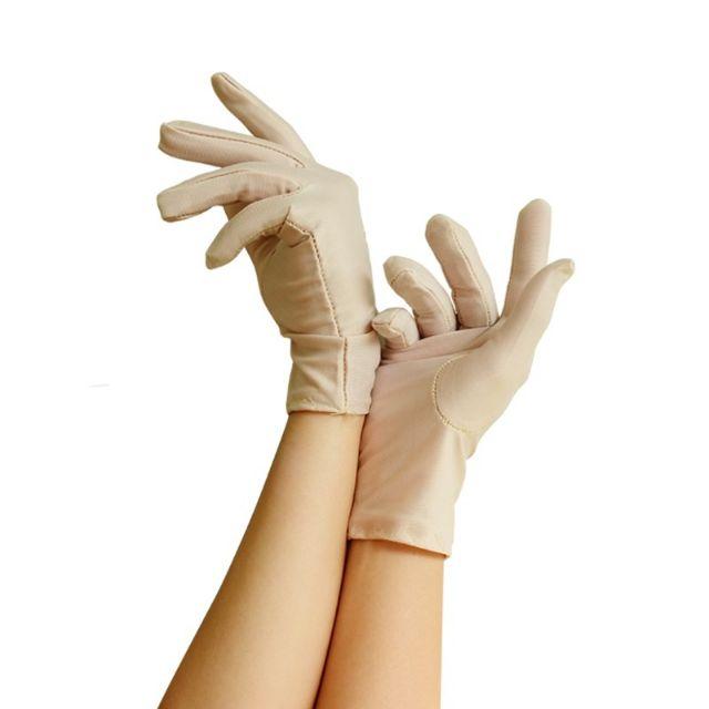 Muslimah Aurat Sarung Tangan Hajah Pendek Flower / Short Hand Glove