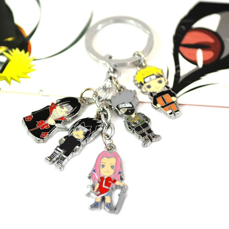 9pcs Set The Legend of Zelda Cosplay Necklace Keychain Ring Pendant Cool Gift