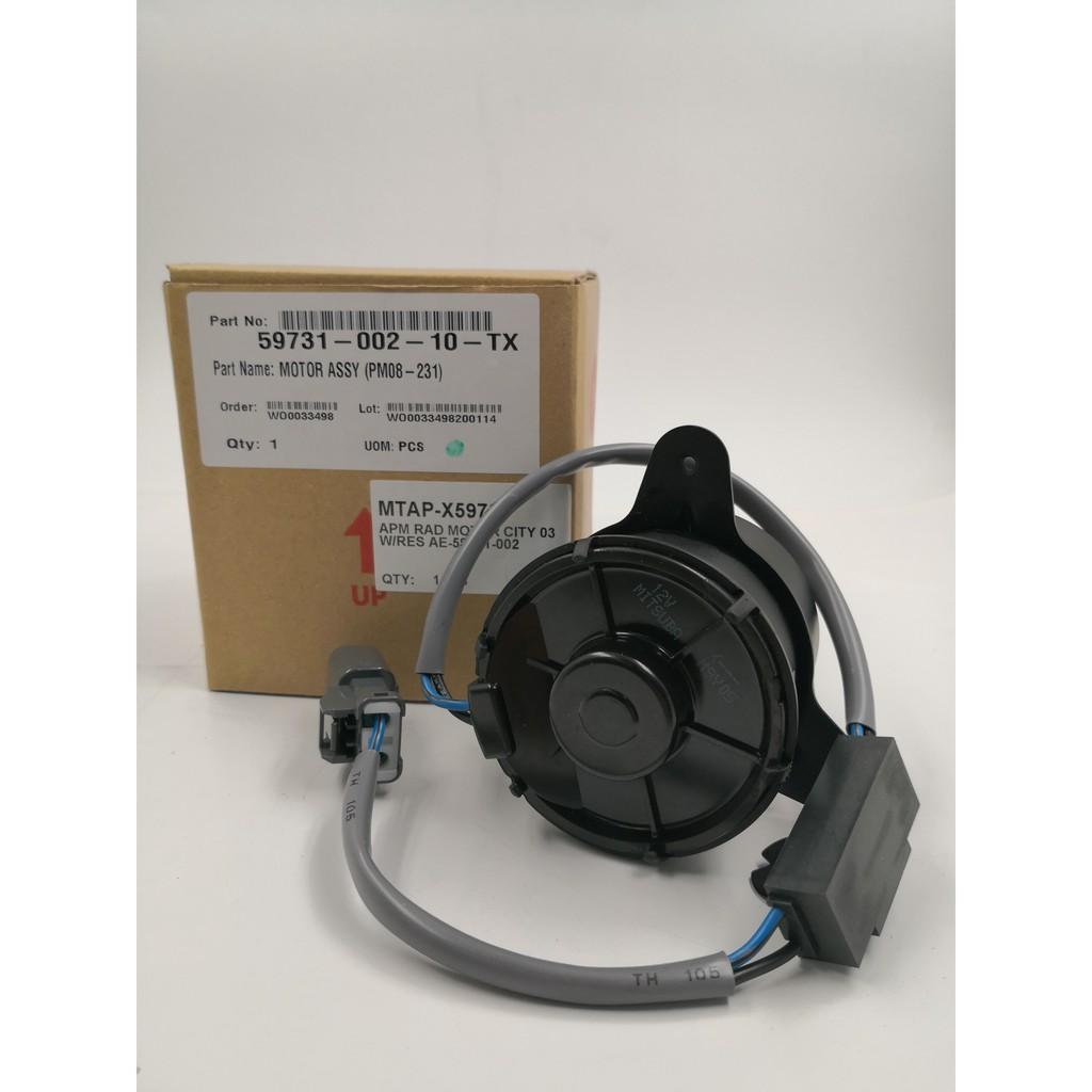 MORDAHCIT03O-HONDA CITY / JAZZ / CRV '03 APM RADIATOR MOTOR ( ORG ) MITSUBA ( 59731-002-10 ) - AE-59731-002