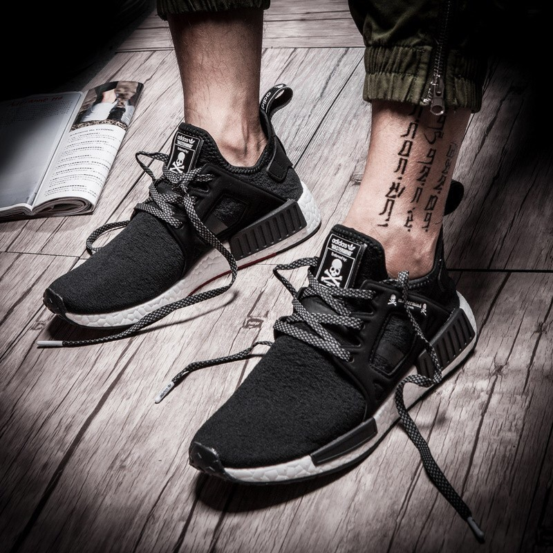 Adidas NMD XR1 Mastermind JAPAN MMJ BA9726 Skull Black white Men's Shoes
