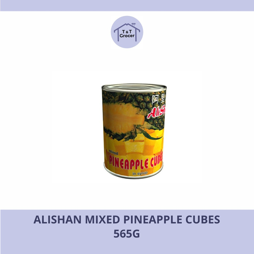 Alishan Mixed Pineapple Cubes 565G