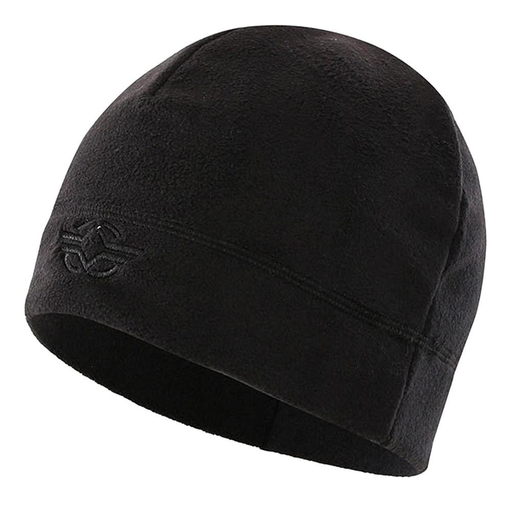 Windproof Warm Cap Fleece Men Winter Hat Military Tactical Skull Cap Soft Beanie