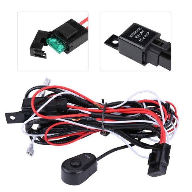 Driving//Fog Lamps Wiring Kit for Nissan Cube Isolated Loom Spot Lights