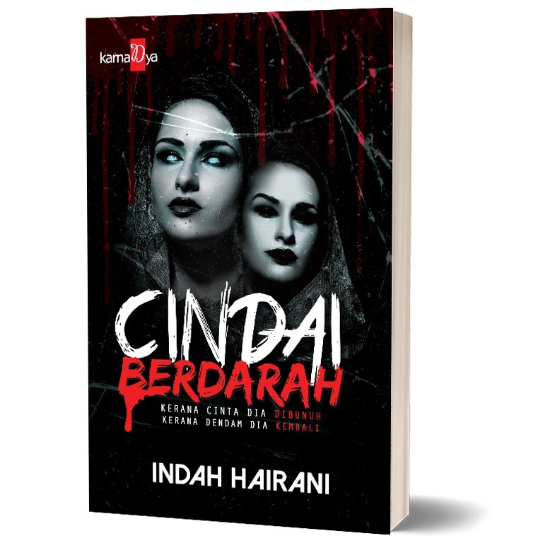 Cindai Berdarah , Author By : Indah Hairani . ISBN : K068674062484