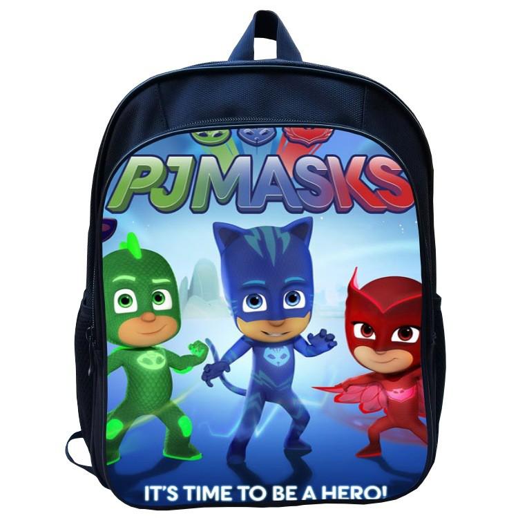 6c2040578ef1 Cute PJ masks Backpack Boys Kids Students Cartoon Bags School Bag LIT1188