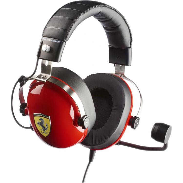 4d505add09a Thrustmaster T.Racing Scuderia Ferrari Edition Gaming Headset Headset |  Shopee Malaysia