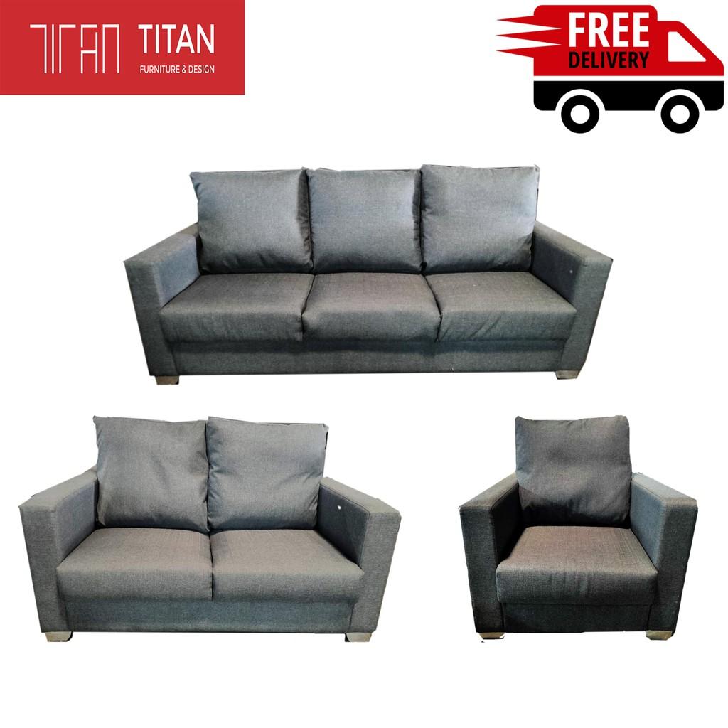 Lawson Sofa Set Murah 1 Seater 2 Seater 1 Seater 2 Seater 3 Seater Free Shipping Shopee Malaysia