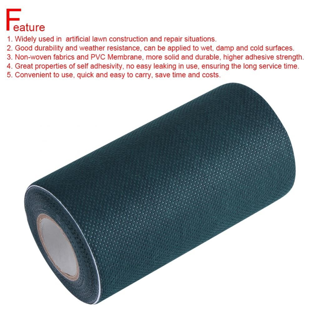 5mx15cm Artificial Grass Green Joining Fixing Turf Tape Self Adhesive